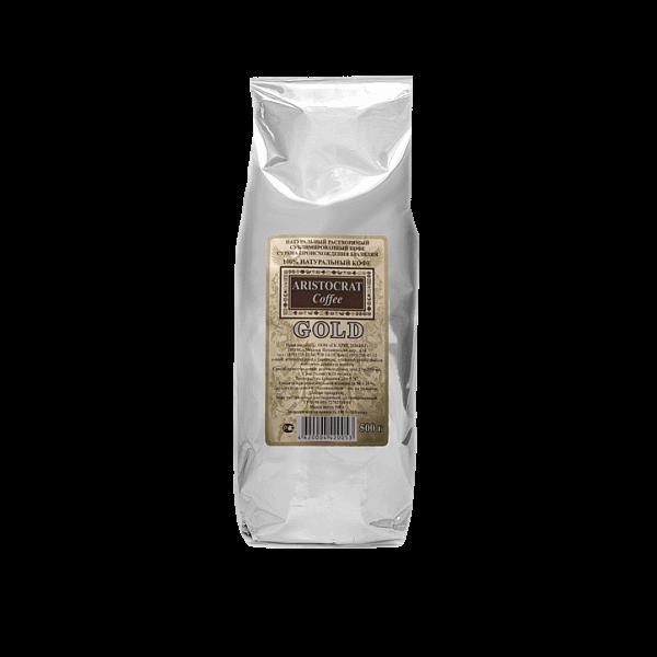 Кофе растворимый Аристократ Gold для кофейных автоматов