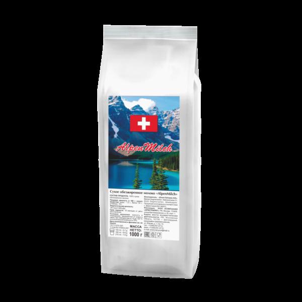 """Сухое агломерированное молоко """"AlpenMilch плюс"""""""