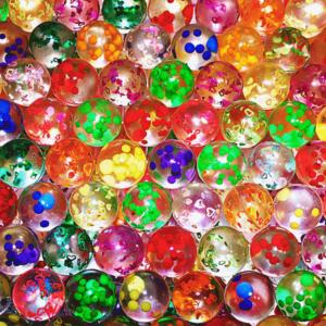 Мячи БЛЕСТЯШКИ 25 мм | Мячи прыгуны являются одним из наиболее популярных наполнителей в вендинге для механических вендинговых автоматов.