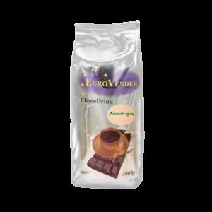 """Горячий шоколад Евровендер """"Ореховый"""" – высококачественный российский продукт с насышеным, ярко выраженным вкусом шоколада и лесного ореха."""