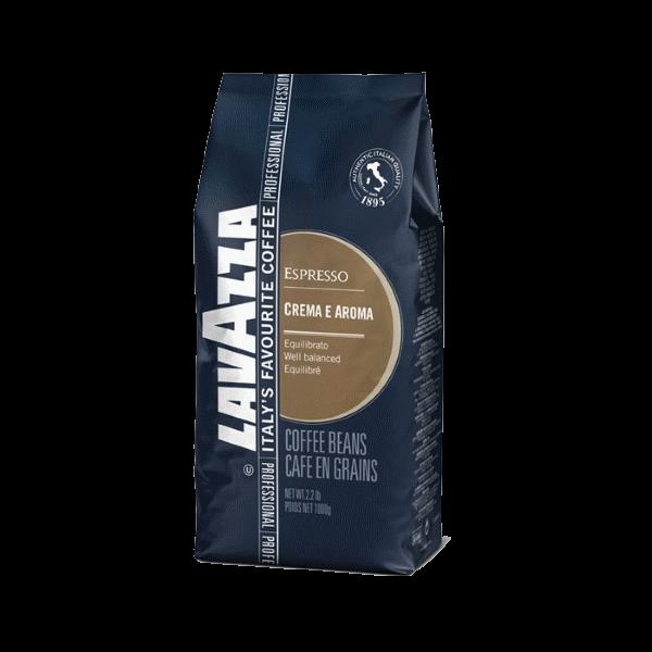 Кофе в зернах LAVAZZA Espresso «Crema e Aroma»