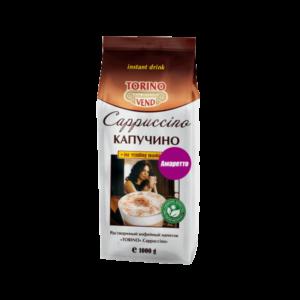 """Капучино TORINO """"Амаретто"""" – высококачественный растворимый российский продукт с насыщенным вкусом миндаля для вендинговых автоматов."""