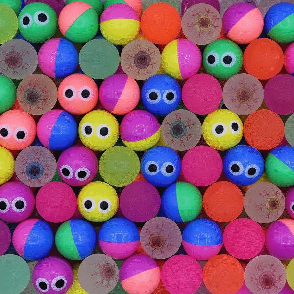 Мячи ДАЛЕКО ГЛЯЖУ 25 мм для механических автоматов